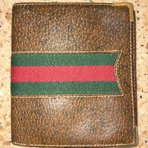 AUTH Vintage Gucci Wallet